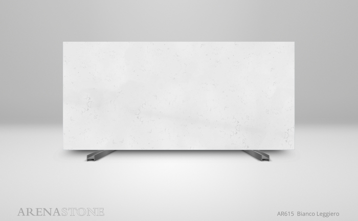 Arenastone Bianco Leggiero – full slab shot
