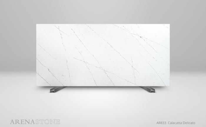 Arenastone Calacatta Delicato - full size slab