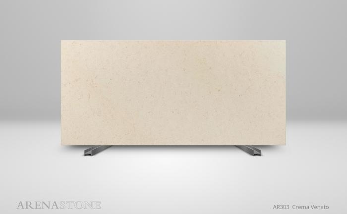 Arenastone Crema Venato - full size slab