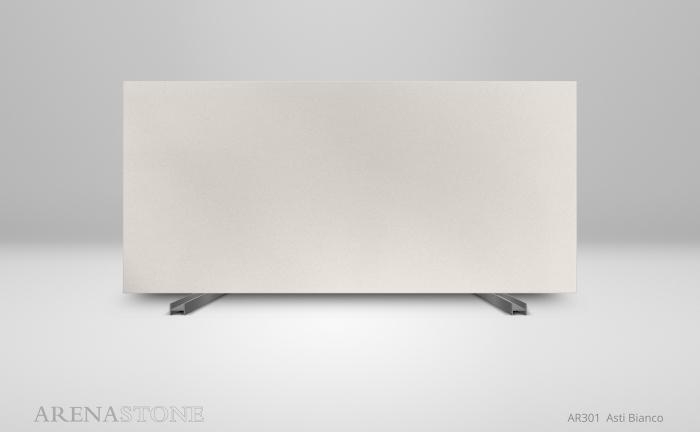 Arenastone Asti Bianco - full size slab