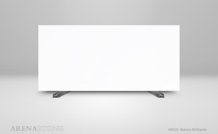 Arenastone Bianco Brilliante - full size slab