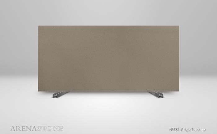 Arenastone Grigio Topolino - full size slab