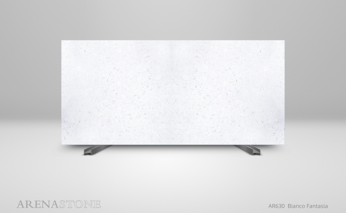 Arenastone Bianco Fantasia - full size slab