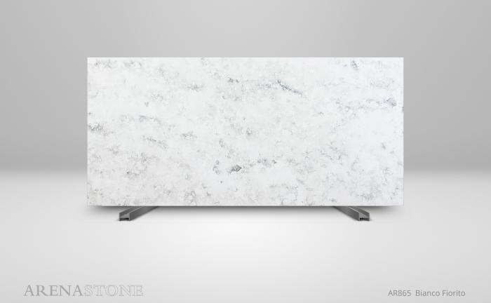 Arenastone Bianco Fiorito – full slab shot