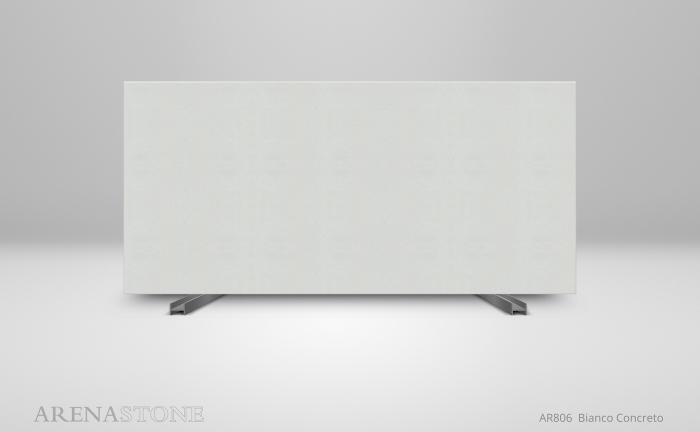 Arenastone Bianco Concreto - full size slab