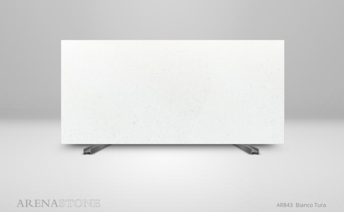 Arenastone Bianco Tura - full size slab