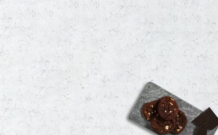 Arenastone Bianco Fantasia - prop shot - cookies