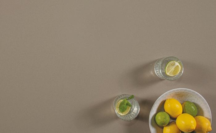 Arenastone Grigio Topolino - bowl of lemons and limes