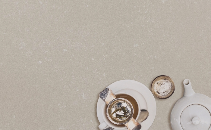 Arenastone Biscotto Concreto - teapot and cup