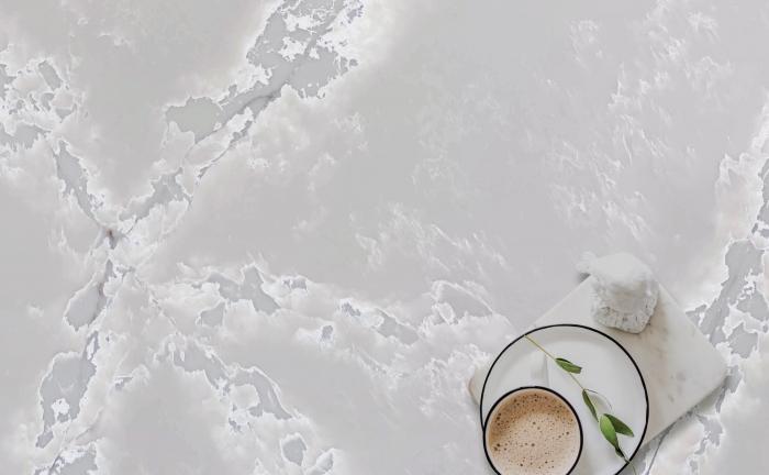 Arenastone Grigio Ghiaccio – prop shot – cup of tea