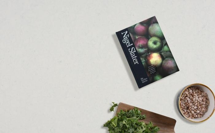Arenastone Grigio Venato - prop shot - cook book